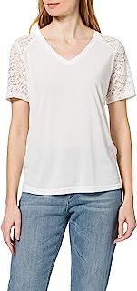 JDY 女式 Jdystinne S/S 蕾丝上衣 Noos JRS RPT T T 恤