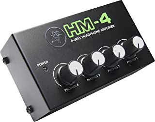 Mackie HM 系列,4 声道耳机放大器混音器配件 1 声道 x 4 耳机(HM-4)