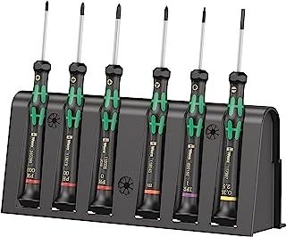 Wera 2050/6 Kraftform 微型螺丝刀套装,PH/TX IRP/SL/M,6件,05030181001