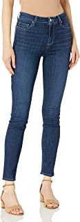 PAIGE 女式 Hoxton Transcend 高腰超紧身牛仔裤