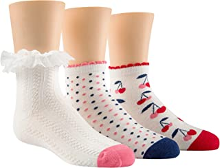 Stride Rite 女童短袜 3 双装