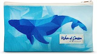 Waves of Change 绝缘再生塑料零食袋 - 2 件套,鲸鱼色