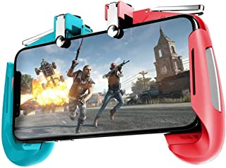 数码乐园 DDL PUBG移动 荒野行动 智能手机 游戏控制器 蓝色×红色