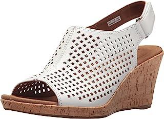 Rockport Briah 女士 Sling PERF 凉鞋 坡跟鞋