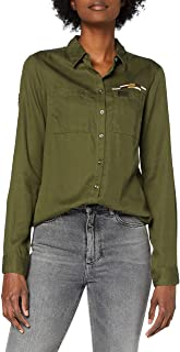 Superdry 女式三角军装衬衫