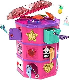 Funlockets S19700 秘密惊喜 密室逃脱游戏 寻宝塔,找到珠宝,制造串珠,令人兴奋的拼图和珠宝盒,6岁以上,多色