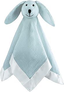 aden + anais 的 aden 平纹细布爱心,* 纯棉细布缎面饰边,纯色冬天天空