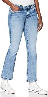 Pepe Jeans 女式 Dion 喇叭牛仔裤