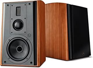 Swans Speakers – M1A – 主动无线书架扬声器 – Wi-Fi/LAN/蓝牙/平衡 XLR/光学和线输入 – RMS 240W – 2 年保修M3A M3A