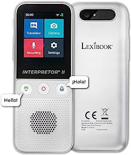 LEXIBOOK 雷克斯博 NTL3000 翻译器 2-137种语言 即时语音 照片/备忘录翻译 多语言便携式扬声器 耳机插孔 Wi-Fi/离线