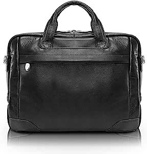 McKlein USA Montclare Laptop Case McKlein USA Montclare Laptop Case Reg Black 10.25 x 13.5 x 3