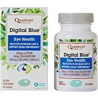 Quantum Health Digital Blue Softgels, Eye Supplement, Blue L…