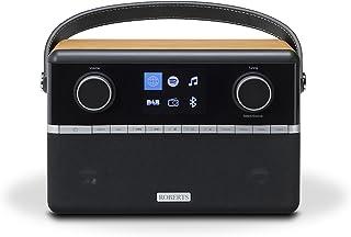 Roberts Stream94i DAB + / DAB / FM网络收音机与Spotify连接和添加蓝牙 - 黑/木