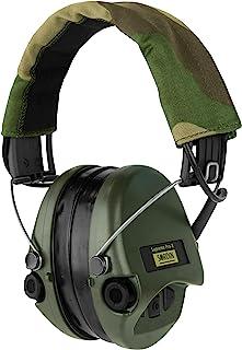 Sordin Supreme PRO X – 活动可调节耳套 – 听力保护 – 凝胶密封 – 迷彩帆布头带和*杯子