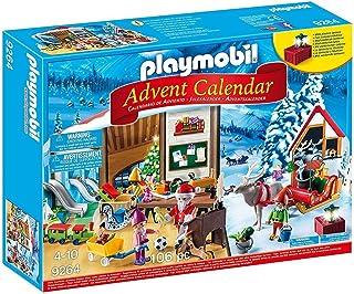 PLAYMOBIL 圣诞倒数日历,圣诞老人的工作室