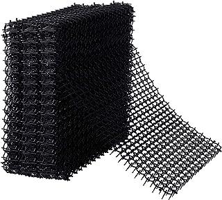 Hmyomina 20 只装猫*痕垫 17 X 14 英寸(约 43.7 X 35.5 厘米)方形*痕垫,适用于户外挖掘猫的刺骨条(黑色)