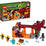 LEGO 21154 Minecraft Bridge Alex Minifigure, Wither Skeleton…