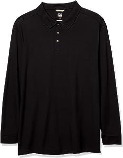 Cutter & Buck 男式加大加长 35+UPF,长袖 Advantage Polo 衫