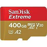 SanDisk 闪迪 Extreme microSDXC UHS-I 存储卡 400GB + 适配器&Rescue Pr…