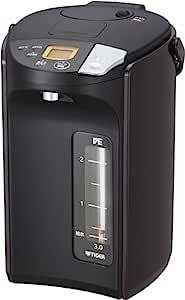TIGER 虎牌 电热水壶 3.0升 无蒸汽 VE 电热水瓶 TOKUKO SAN 棕色 PIS-A300-T