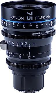 Schneider 施耐德 Kreuznach 1085550 Cine 镜头 FF-Prime T2.1/75 毫米 Sony 索尼 E/ft 黑色