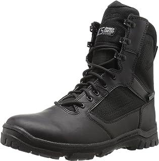Danner 男士 Lookout 侧拉链 20.32cm 黑色军事和战术靴 黑色 10 M US