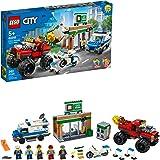 LEGO 乐高 城市警察怪物卡车Heist 60245 警察玩具,儿童酷炫积木套装,2020 年新款(362 件)