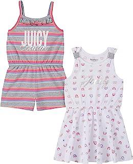 Juicy Couture 橘滋 女童连衫裤和连衣裙 2 件套