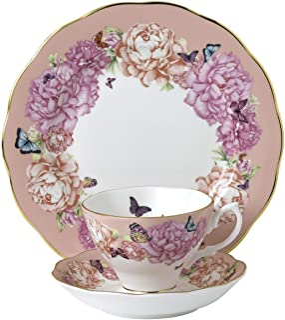 ROYAL ALBERT Miranda Kerr 1056233 3 件套茶具,优质骨瓷
