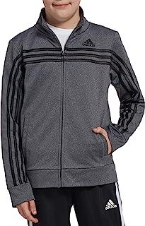 adidas 阿迪达斯男童混色拼接夹克