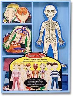 Melissa & Doug 磁性人体解剖玩具套装 磁性装扮套装