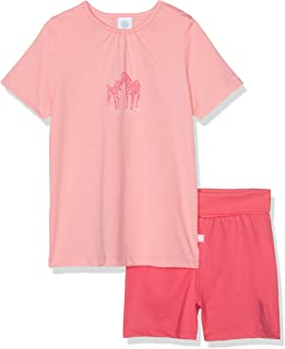 sanetta 婴儿女童短款 pyjama 套装