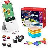 Osmo – Genius 入门套件,适用于 Fire 平板电脑+家庭游戏之夜 – 7 种动手学习游戏,适用于拼写、数学…