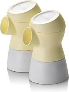 Medela 美德乐 舒悦版连接器 吸奶器配件 拆卸方便 防止回流 两个装