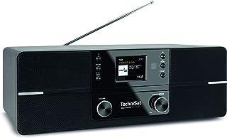 DIGITRADIO 371 CD BT 立体声数字收音机(DAB+,FM,CD 播放器,蓝牙,彩色显示屏,USB,AUX,耳机插孔,闹钟,10瓦)黑色