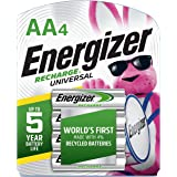 Energizer Recharge Universal 1400 mAh AA Rechargeable Batter…