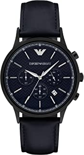 Emporio Armani Men's 3-Hand Classic Watch with Quartz Movement