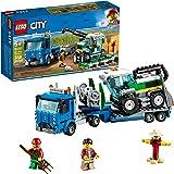 LEGO City Great Vehicles Harvester Transport 60223 建筑套装(358…