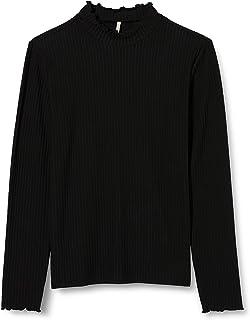 Kids Only 女款 Konnella L/S 高领上衣 JRS 长袖衬衫