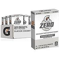 佳得乐 G Zero 粉末,冰川樱桃,0.10 盎司包装(120 包)