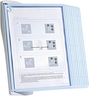 Durable 591100 可视板支架 Sherpa BACT-O-CLEAN,包括 10 块板 Wand 浅灰色