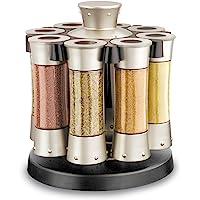 KitchenArt 80070 Elite Carousel, 8 Auto Measure Jars Without…