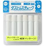 Rikagaku 无尘粉笔,6 支装 白色