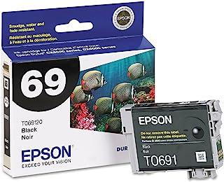 Epson 69, (T069120-S) DuraBrite 超黑色墨盒