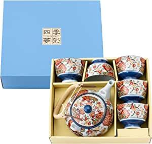 saikaitoki 西海陶器 日本锦和平樱花道宾茶具