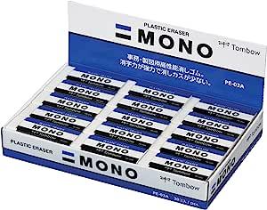 TOMBOW 橡皮擦 MONO PE03 30个 PE-03A-30P
