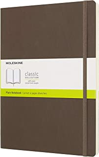 Moleskine 笔记本 Blanko Xlarge 棕色