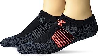 Under Armour 青年高尔夫提升性能隐形袜,2 双装