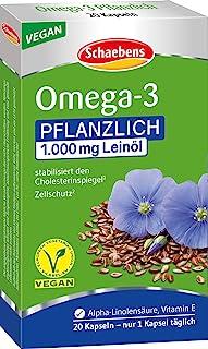Schaebens 雪本斯 植物 Omega 3 营养片 (1 x 20片)