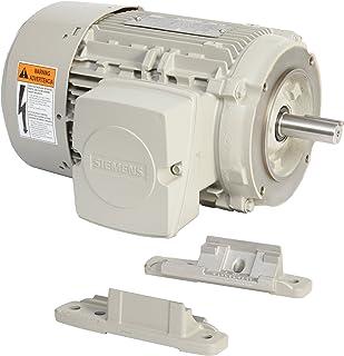 Siemens 1LE21211AC314EA3 1-HP 1200 Rpm 208 230/460-volt 145tc 通用电动机 Nema 优质*铝框架,铝制转子